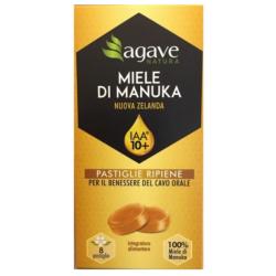 Agave S.r.l - AGAVE NATURA MIELE DI MANUKA IAA 10+ 8 PASTIGLIE - 977662016