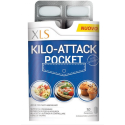XL-S - XLS KILO ATTACK POCKET 10 COMPRESSE - 980295327