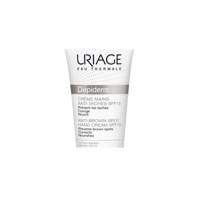Uriage - Depiderm Crema Mani Anti-macchie Spf15 50 Ml - 970385264