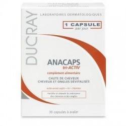 Ducray - Anacaps Tri-activ 30 Capsule Ducray - 922955339