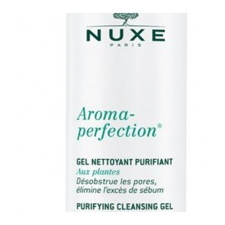 Nuxe Aroma Perfection Gel Nettoyant Purifiant - Gel Pulente Purificante 200 Ml