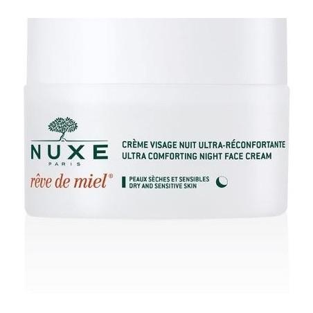 Nuxe Reve De Miel Creme Visage Ultra-reconfortante Nuit 50 Ml
