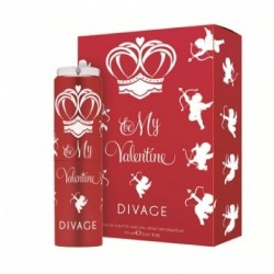 Divage Fashion - Be My Valentine Edt Nat spray - 970334900