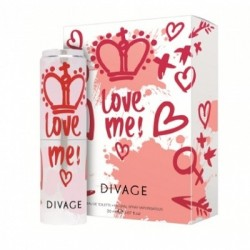 Divage Fashion - Love Me Edt Nat Spray 20 Ml - 970334847