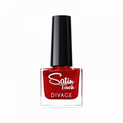 Divage Fashion - Nail Polish Satin Touch 06 (Rosso cardinale) - 927303192