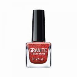 Divage Fashion - Nail Polish Granite 07 (Rosso) - 927303103