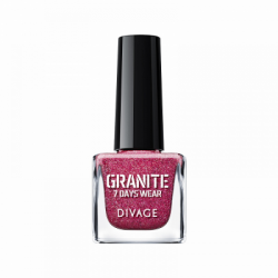 Divage Fashion - Nail Polish Granite 04 (Fucsia) - 927303077