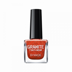 Divage Fashion - Nail Polish Granite 06 (Rosso) - 927303091