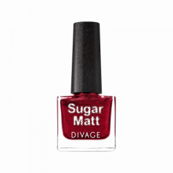 Divage Fashion - Nail Polish Sugar Matt 06 (Rosso cardinale) - 927303293