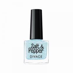 Divage Fashion - Nail Polish Salt & Pepper 06 (Azzurro) - 927303697