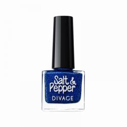 Divage Fashion - Nail Polish Salt & Pepper 15 (Blu scuro) - 927303786