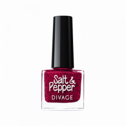 Divage Fashion - Nail Polish Salt & Pepper 14 (Rosso) - 927303774