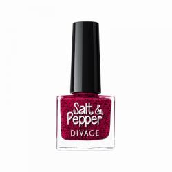 Divage Fashion - Nail Polish Salt & Pepper 14 (Rosso) - 927303774