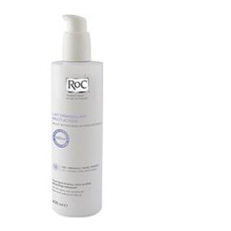 Roc Latte Detergente Struccante Multiazione 3 In 1 400 Ml
