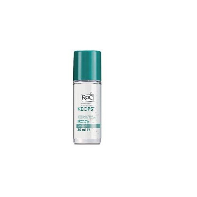 Roc Keops Deodorante Roll On Senza Alcool 30 Ml