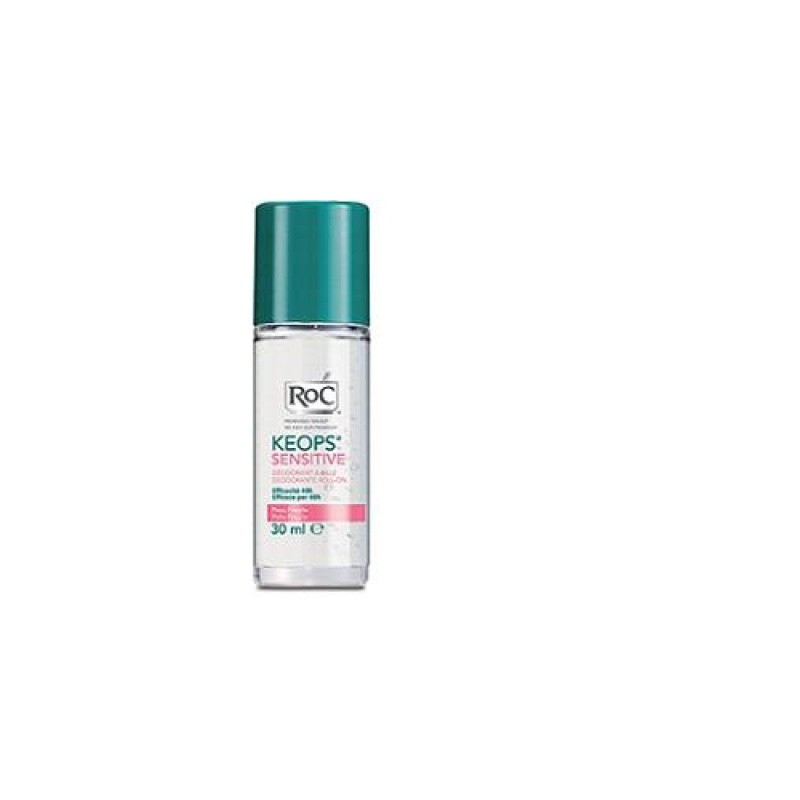 Roc Keops Deodorante Roll-on Pelle Fragile 30 Ml