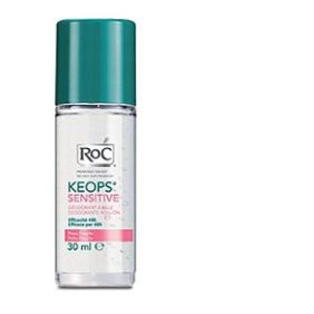 Roc Keops Deodorante Roll-on Pelle Fragile 30 Ml