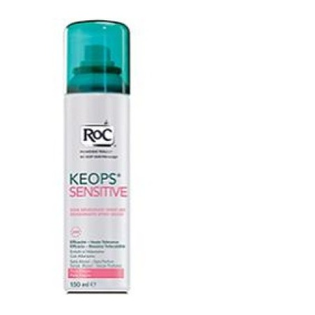 Roc Keops Deodorante Spray Secco Pelle Fragile 150 Ml