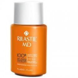 Rilastil - Rilastil Md 100+ fluido protezione molto alta 丽纳斯蒂尔防水户外防晒霜 75 Ml - 933951358