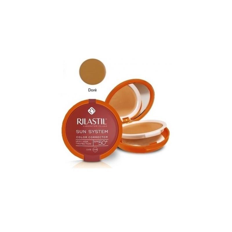 Rilastil Sun System Photo Protection Therapy Spf50+ Compatto Dore' 俪纳斯防晒修色金黄色粉饼10 Ml