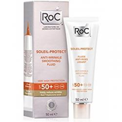 Roc - Roc Solari Soleil Protexion + Fluida Viso Antirughe Levigante Spf50+ 50 Ml - 926569284