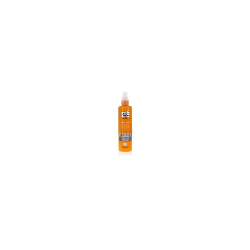 Roc - Roc Solari Soleil Protection + Lozione Spray Corpo Elevata Tollerabilita' Spf50+ 200 Ml - 926569599
