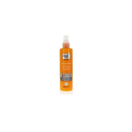 Roc Solari Soleil Protection + Lozione Spray Corpo Elevata Tollerabilita' Spf50+ 200 Ml