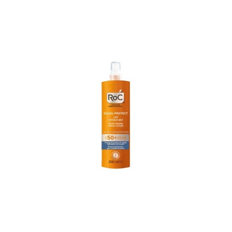 Roc - Roc Solari Soleil Protection + Lozione Spray Corpo Idratante Sp f50+ 200 Ml - 926570348