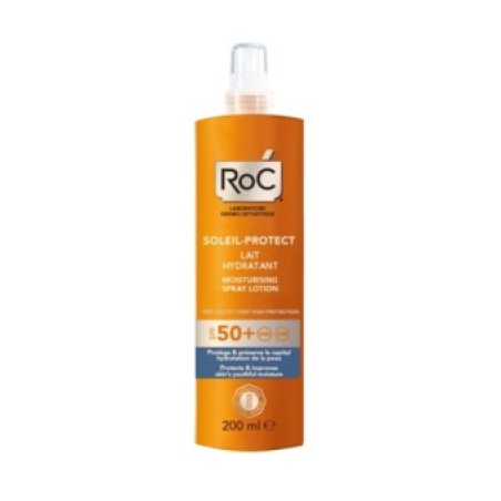 Roc Solari Soleil Protection + Lozione Spray Corpo Idratante Sp f50+ 200 Ml