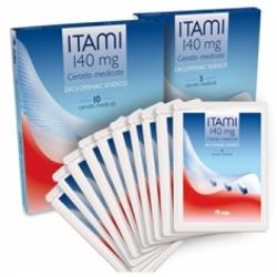 Fidia Farmaceutici - Itami 10 cerotti Medicati 140mg - 035482025