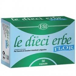 Esi - Le Dieci Erbe Flor 30 Capsule Blister - 902359948