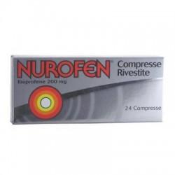 Reckitt Benckiser - Nurofen 24 compresse rivestite 200mg - 025634041