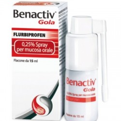 Benactiv - Benactiv Gola Spray15ml0,25% - 033262041