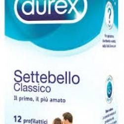 Durex - Profilattico Durex Settebello Classico 12 Pezzi - 912380146