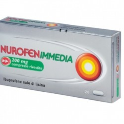Reckitt Benckiser - Nurofen immedia 12 compresse rivestite 200mg - 034061010