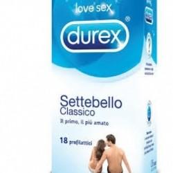 Durex - Profilattico Durex Settebello Classico 18 Pezzi - 912380159