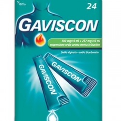 Gaviscon - Gaviscon 24 bustine 500+267mg/10m - 024352142