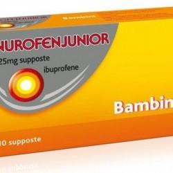 Nurofen - Nurofen junior 10 supposte 125mg - 041610027
