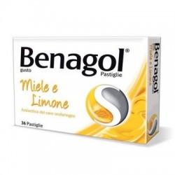 Reckitt Benckiser - Benagol 36 pastiglie Miele Limone - 016242149