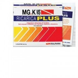 Pool Pharma - MG.K VIS Ricarica Plus Tono e Vigore 14 bustine + IN OMAGGIO 14 BUSTINE - 902709397