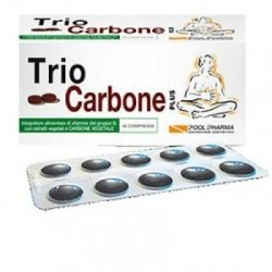 Pool Pharma - Triocarbone Plus 40 Compresse - 902652763