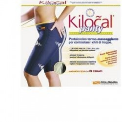 Kilocal - Kilocal Panty Pantalone Blu Taglia XXL - 905885149