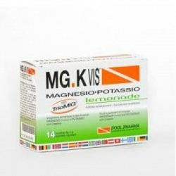Pool Pharma - Mgk Vis Magnesio Potassio gusto Lemonade 14 Bustine Scadenza 31/3/2019 - 930850882
