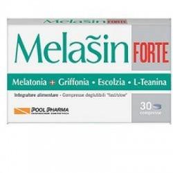 Pool Pharma - Pool Pharma Melasin Forte Integratore per il Sonno 30 compresse - 933541916