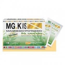 Pool Pharma - MG.K VIS Magnesio Potassio tè verde 14 bustine - 934390612