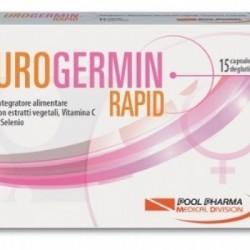 Pool Pharma - Urogermin Rapid 15 Capsule Deglutibili - 934848932