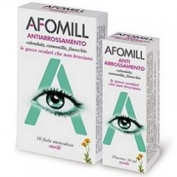 Afomill - Gocce Oculari Afomill Antiarrossamento 10 Fiale Monodose 0,5 Ml - 930127535