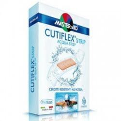 Master Aid - Cerotto Master-aid Cutiflex Strip Trasparente Impermeabile Supporto In Poliuretano Medio 10 Pezzi - 900470840