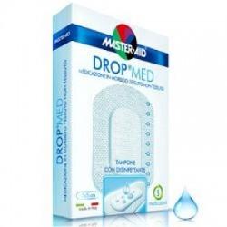 Master Aid - Medicazione Compressa Autoadesiva Dermoattiva Ipoallergenica Aerata Master-aid Drop Med 10,5x30 3 Pezzi - 909769010