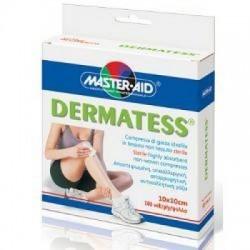 Master Aid - Garza In Tessuto Non Tessuto Dermatess 10x10 100 Pezzi - 900919186